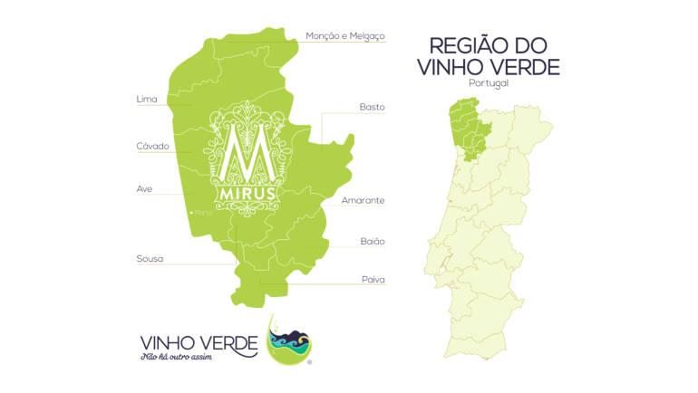 Conhece as 9 sub-regiões do Vinho Verde?